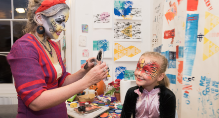 Thelma Hulbert Gallery - Halloween Party
