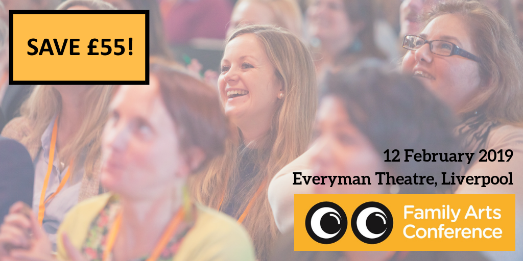 Family Arts Conference save £55